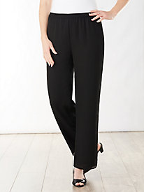 Georgette Slim Leg Pants