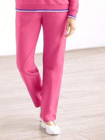 French Terry Pull-on Pants by D&D Lifestyle™ - Image 1 of 1