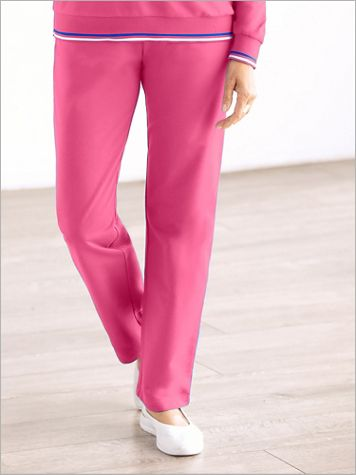 French Terry Pull-on Pants by D&D Lifestyle™ - Image 3 of 3