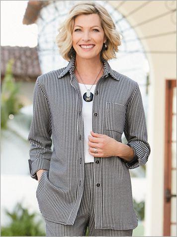 Check Mate Big Shirt by Brownstone Studio® - Image 1 of 1