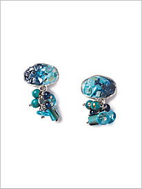 Work of Art Clipped Earrings