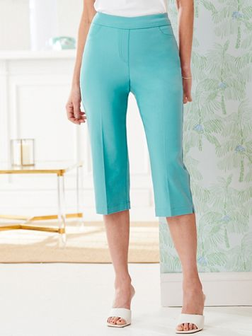 Slimtacular® Pull-On Capris - Image 1 of 9