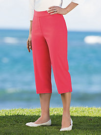 Slimtacular® Pull-on Capris
