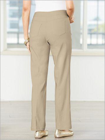 Slimtacular® Straight Leg Pull-On Pants - Image 1 of 10