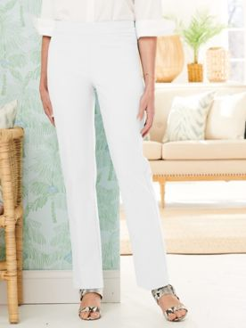 Slimtacular® Straight Leg Pull-On Pants