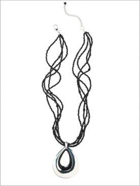 Epoxy Teardrop Necklace