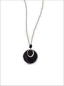 Ice Eclipse Necklace