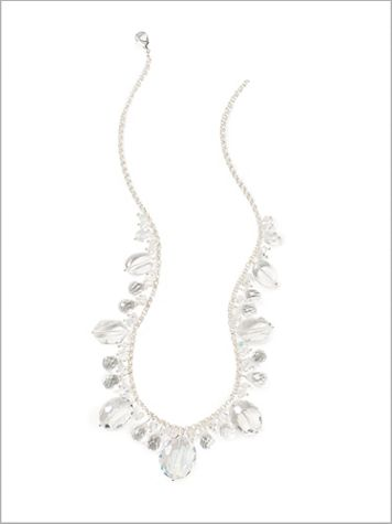 Crystal Clear Necklace - Image 2 of 2