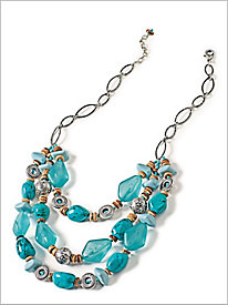 Treasure Turq Necklace