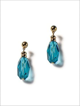 Ombre Tri Row Earrings