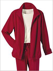 Microfiber Jacket & Pants Set by D&D Lifestyle&#8482