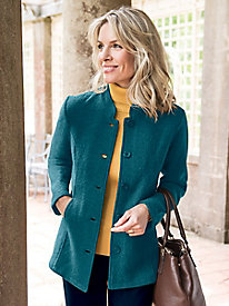 Women's Boiled Wool Jacket