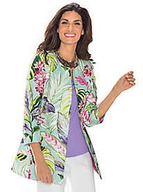 Women's Cayman Tropical Jacket by 3 Sisters