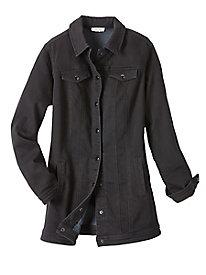 Women's Long Jean Jacket