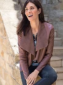 Women's Modern Drape Jacket