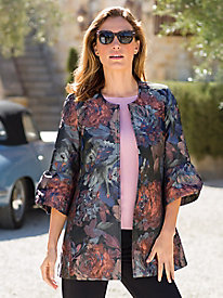 Women's Rose Portrait Jacket