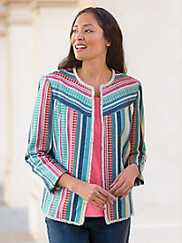 Women's Multi Stripe Jacket