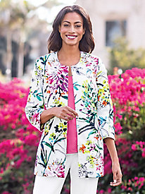 Women's Spring Blossom Jacket by 3 Sisters