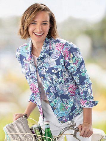 Summer Floral Jacket - Image 2 of 2