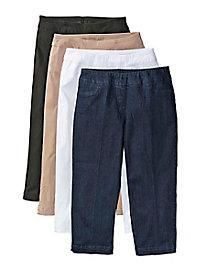 Women's SlimSation Slim Leg Capris