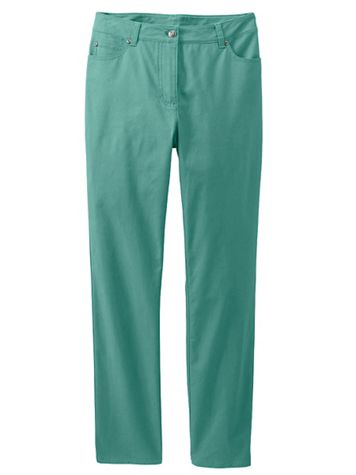 Women's 5-Pocket Stretch Twill - Image 3 of 4