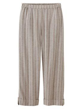 Women's Admiral Stripe Capri Pants