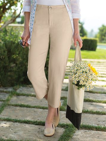 Women's Dream Cropped Twills - Image 5 of 6