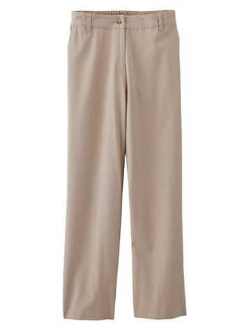 Tencel Fly Front Comfort Pants - Image 2 of 2