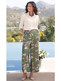 Women's Asian Blossom Drape Pants