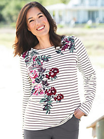Women's Joules Harbor Print Top