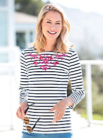 Joules Harbour Embroidered Top