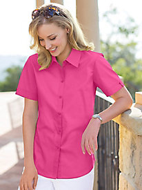 Women's Foxcroft Short-Sleeved Shirt