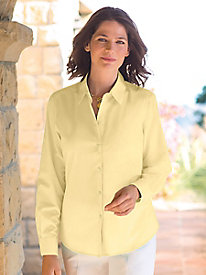 Women's Wrinkle-Free Pure Cotton Foxcroft Shirt