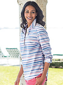 Women's Joules Clovelly Popover Deck Shirt