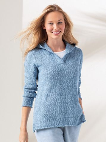 Women's  Casual Hoodie Sweater - Image 1 of 6