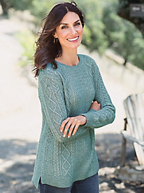 Women's Salt and Pepper Pullover Sweater
