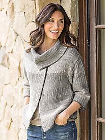Women's Foil Heritage Knit Jacket
