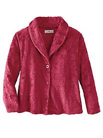 Women's Karen Neuburger Embossed Bed Jacket