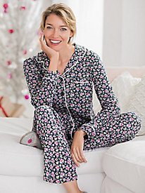 Women's Karen Neuburger Crimson & Clover Girlfriend Pajamas