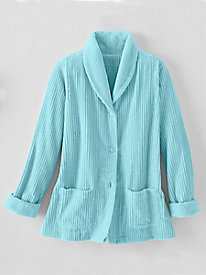 Women's Chenille Bed Jacket