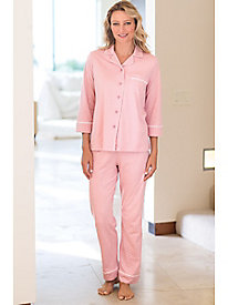 Women's Cotton Modal Polka Dot Pajamas