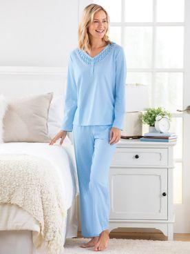 Karen Neuburger Last Waltz Henley Pajamas