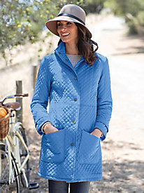 Women's Diamond Quilted Coat