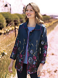 Women's Reversible Paintbox Floral Jacket