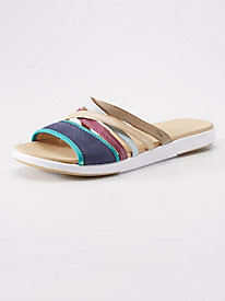 Women's Emu Jimble Mixed Media Slide Sandals