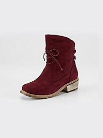 Women's Beacon Vail Tie Front Microsuede Boots