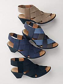 Women's Farrow Stretch Sandals by Comfortiva