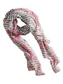 Women's Joules Wensley Blossom Stripe Scarf