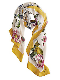 Women's Joules Natural Woodland Scarf