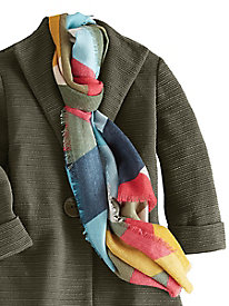 Women's Colorblock Scarf